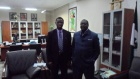 E.B. John visits Vice-Chancellor (President), University of Nigeria, and the Medical Rehabilitation Program